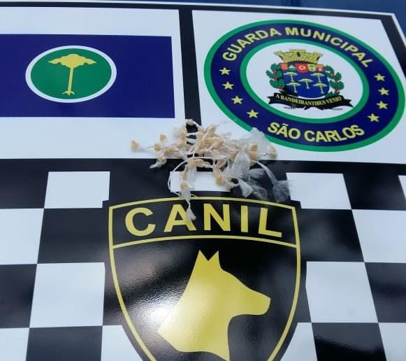 GM apreende adolescente com drogas no Romeu Santini - Crédito: Divulgação