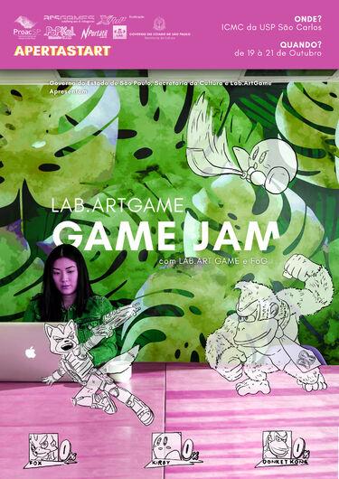 Coletivo LabArtGame realiza sua 1ª Game jam em parceria com alunos da USP São Carlos -