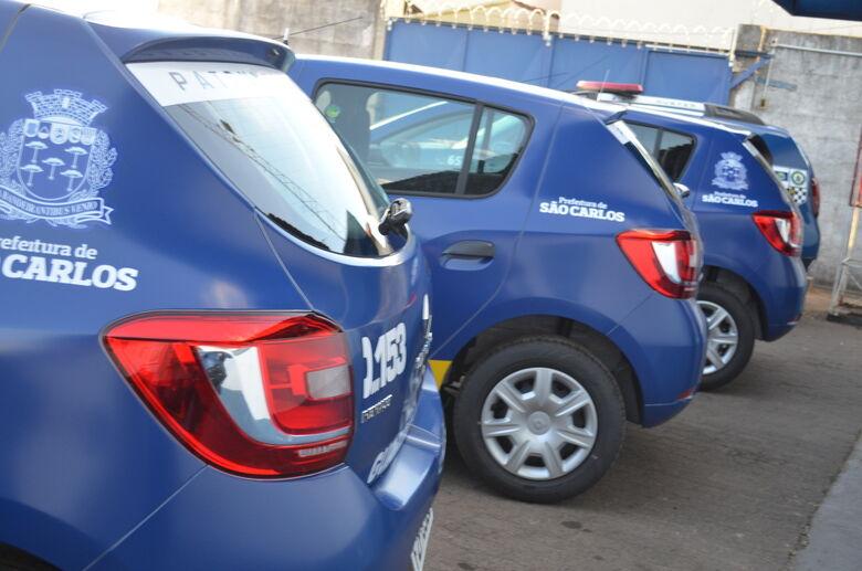 Guarda Municipal recebe 10 novos veículos para a ronda escolar - Crédito: Divulgação
