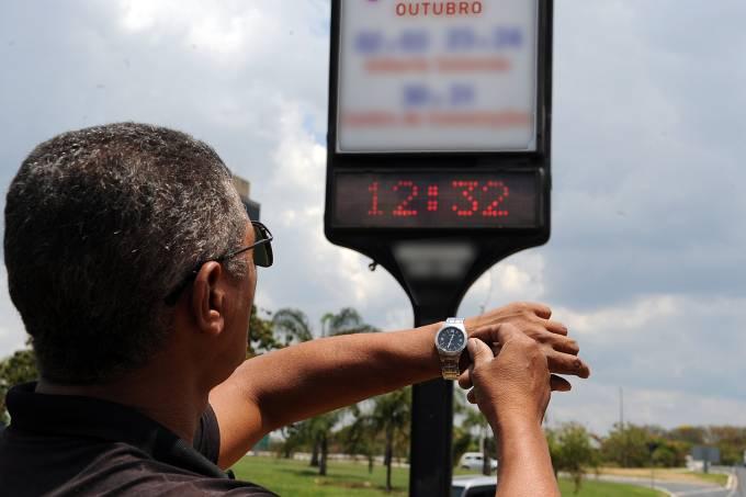 Governo decide manter começo do horário de verão em 4 de novembro - Crédito: Divulgação