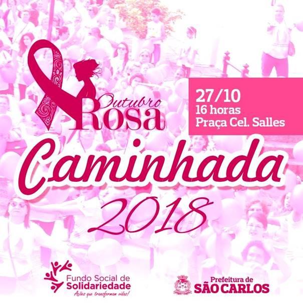 Acisc apoia a 6ª Caminhada Outubro Rosa que acontece neste sábado (27) -