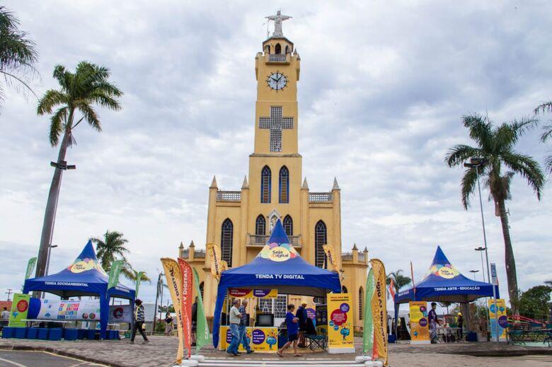 Caravana da TV Digital estará em Ibaté nesta quinta-feira - Crédito: Luís Bahu