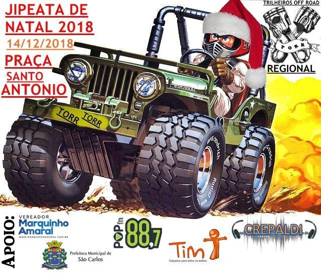 Grupo Torr promove Jipeata de Natal solidária -