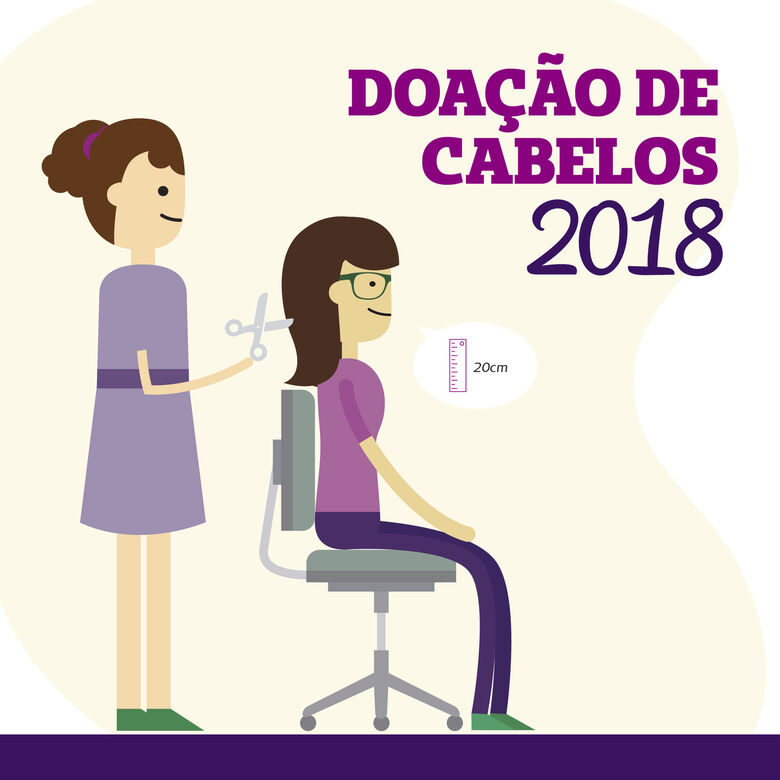 Unimed São Carlos incentiva doação de cabelos -