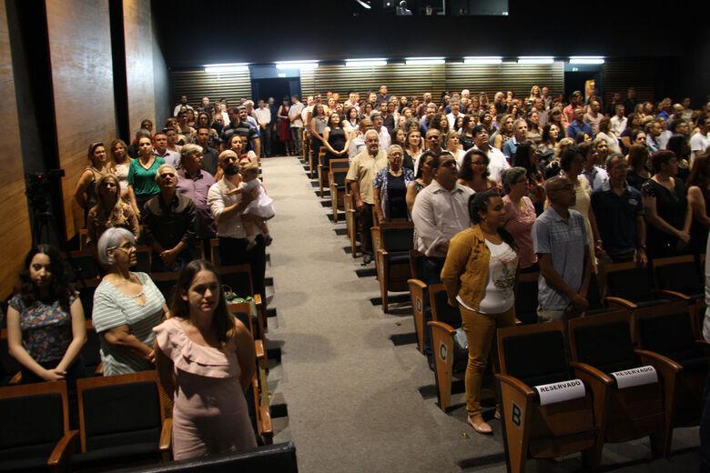 Professores da rede pública de ensino de São Carlos recebem homenagens do CEPOF/IFSC - Crédito: Divulgação