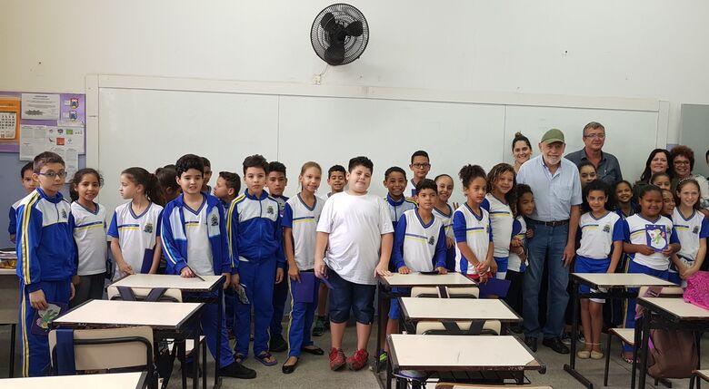 Escolas realizam Projeto Leitura com participação da comunidade - Crédito: Divulgação