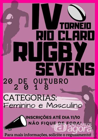 São Carlos participa do IV Rio Claro Sevens -