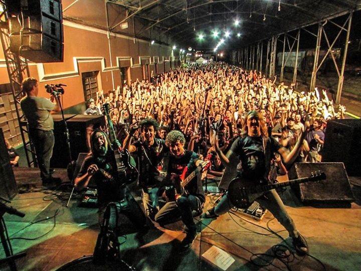 Banda Anthares encerra Festival Rock na Estação - Crédito: Divulgação