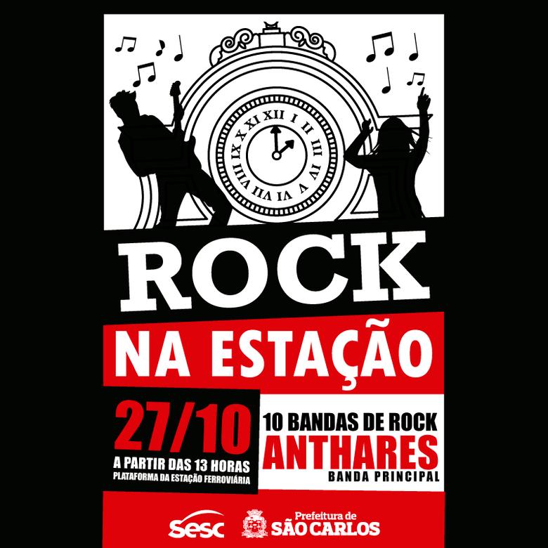 Onze bandas se apresentam no Festival Rock na Estação -