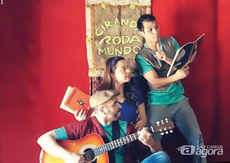 Contação de histórias no Sesi São Carlos estimula a fantasia e incentiva a leitura - Crédito: Divulgação