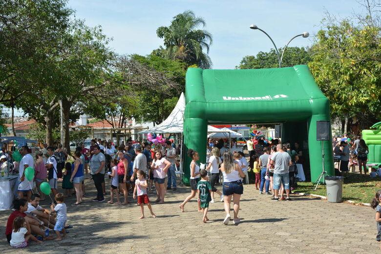Unimed na Praça reúne 1.500 crianças na Praça Brasil - Crédito: Divulgação