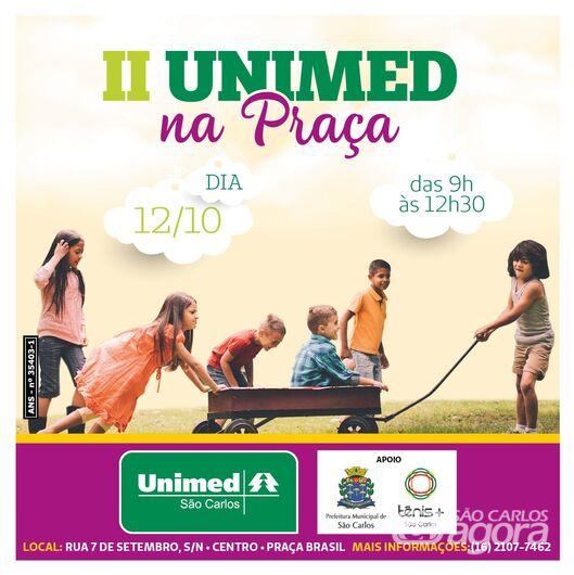 Unimed vai oferecer festa em comemoração ao Dia das Crianças -