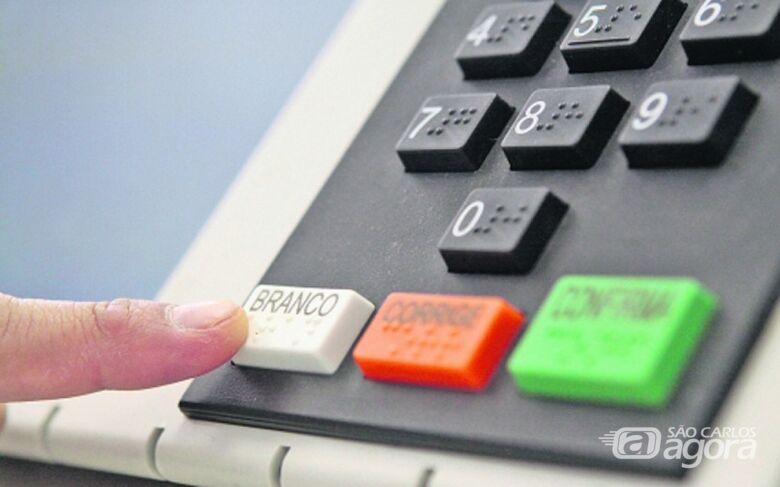 Confira qual é a ordem de votação na urna eletrônica - Crédito: Agência Brasil