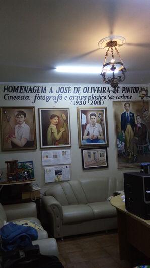 Em homenagem a Zé Pintor, museu no Jardim Beatriz inaugura sala com acervo do artista - Crédito: Divulgação