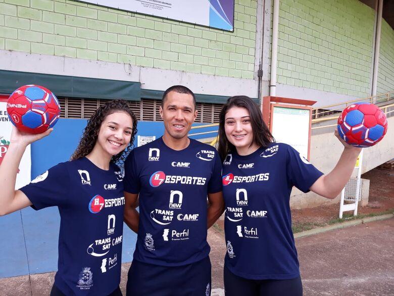 Talentos do handebol são-carlense são convocadas para a seleção brasileira - Crédito: Maycon Maximino
