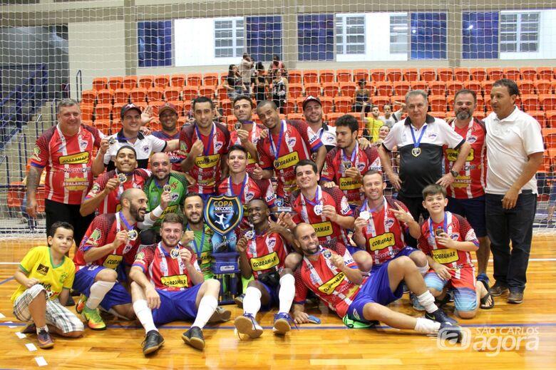 São Carlos Futsal tem mais um desafio: agora os Abertos do Interior - Crédito: Divulgação