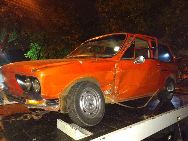 Adolescente ao volante causa acidente na Marechal Deodoro - Crédito: Luciano Lopes
