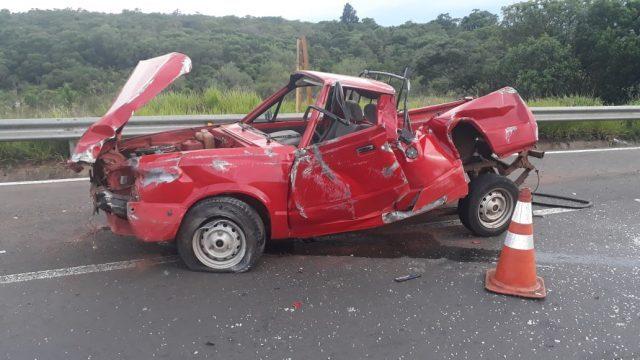 Acidente mata homem em estrada da região - Crédito: Grupo Rio Claro SP