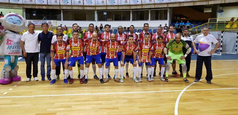 São Carlos Futsal passa para as quartas de final com campanha invicta - Crédito: Divulgação