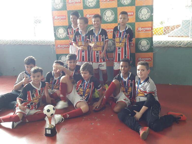Sub10 é campeão invicto da final estadual da Copa SE Palmeiras - Crédito: Divulgação