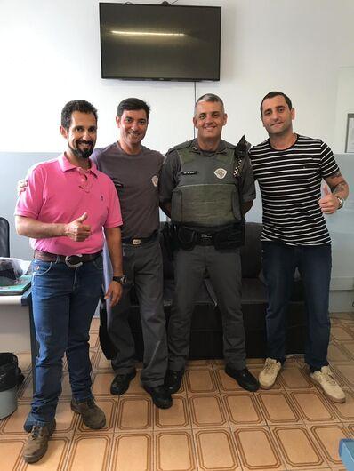 Segurança na Cavalgada Solidária é tema de encontro entre Comissão Paixão Sertaneja e Polícia Militar - Crédito: Divulgação