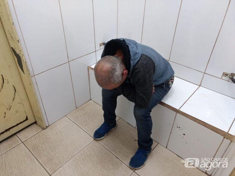Homem é detido após tentativa de furto - Crédito: Luciano Lopes