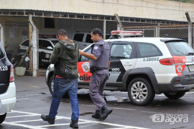 Homem é detido após tentar furtar chácara - Crédito: Marco Lúcio