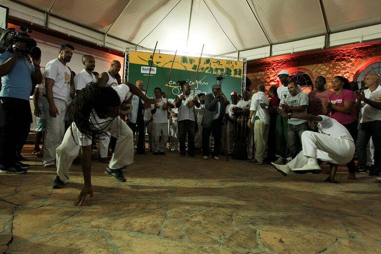 Projeto promove caminhada e roda de capoeira no Cerrado da UFSCar - Crédito: Paula Fróes/GOVBA