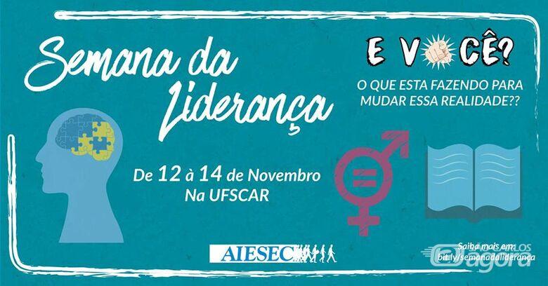 Semana da Liderança acontece de 12 a 14 de novembro na UFSCar -