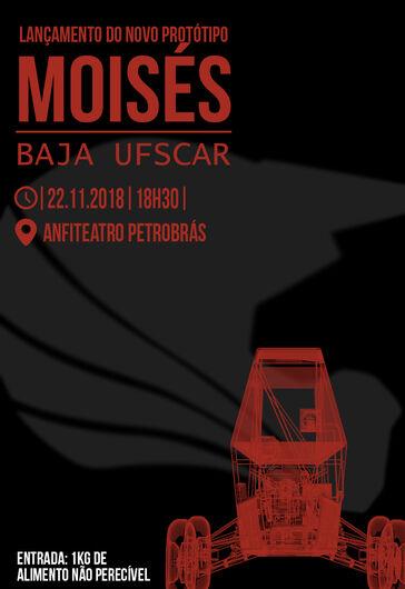 Equipe Baja lança Moisés, seu novo protótipo -