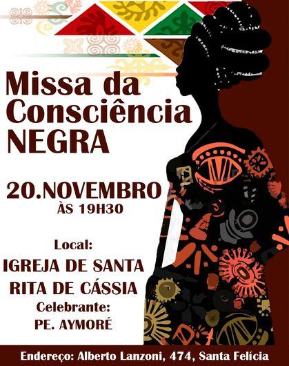 Missa em São Carlos celebra o Dia da Consciência Negra -