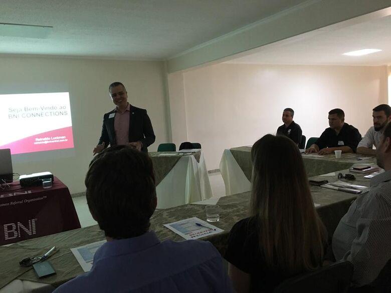 Formação da segunda equipe do BNI em São Carlos chama atenção de empresários e empreendedores - Crédito: Divulgação