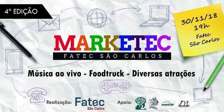 Fatec São Carlos irá realizar a 4º Feira de Marketing -