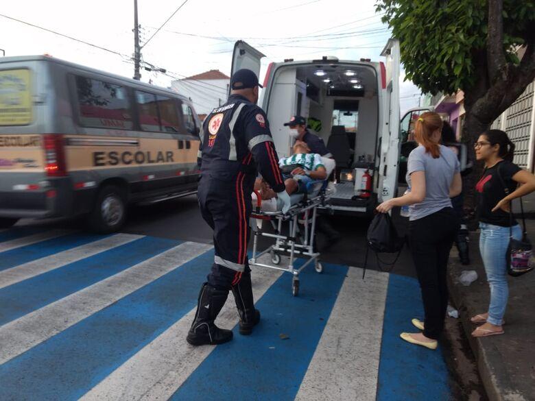 Cilista sofre acidente no Cruzeiro do Sul - Crédito: Luciano Lopes