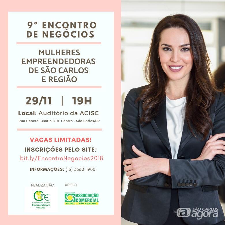 9º Encontro de Negócios de Mulheres Empreendedoras de São Carlos e Região -