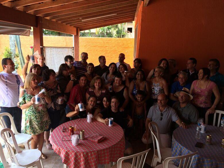 """Após 32 anos, """"Galera"""" do Jesuíno de Arruda se reencontra em almoço festivo - Crédito: Divulgação"""