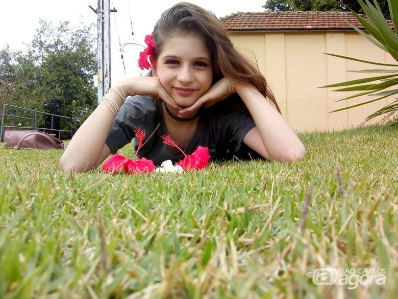 São-carlense de 12 anos encontra dificuldades para disputar Miss Universo no Peru - Crédito: Divulgação