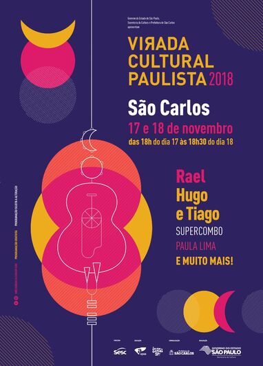 Virada Cultural Paulista começa sábado em São Carlos -