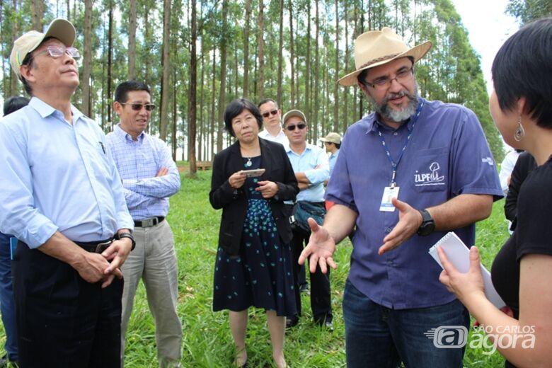 Comitiva chinesa visita Embrapa em São Carlos para conhecer opções de forrageiras tropicais - Crédito: Gisele Rosso