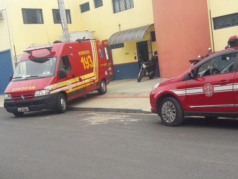 Funcionária prende a mão em máquina no Distrito Industrial - Crédito: Maycon Maximino
