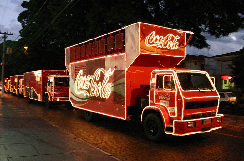 Caravana de natal da Coca-Cola passará por São Carlos no dia 11 de dezembro -
