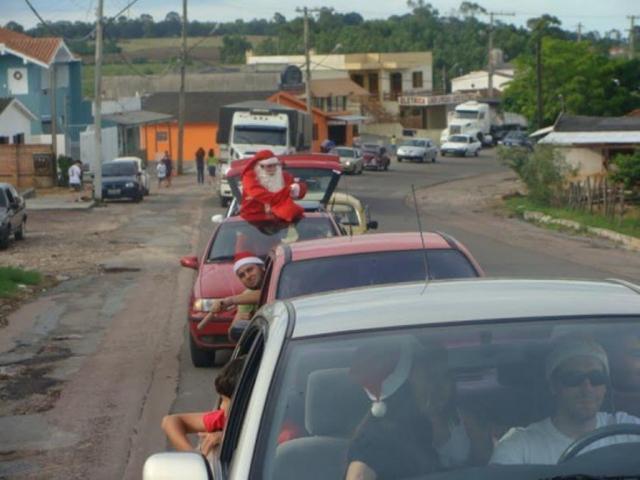 Carreata Solidária de Natal passará pelas ruas de São Carlos no dia 22 de dezembro - Crédito: Divulgação