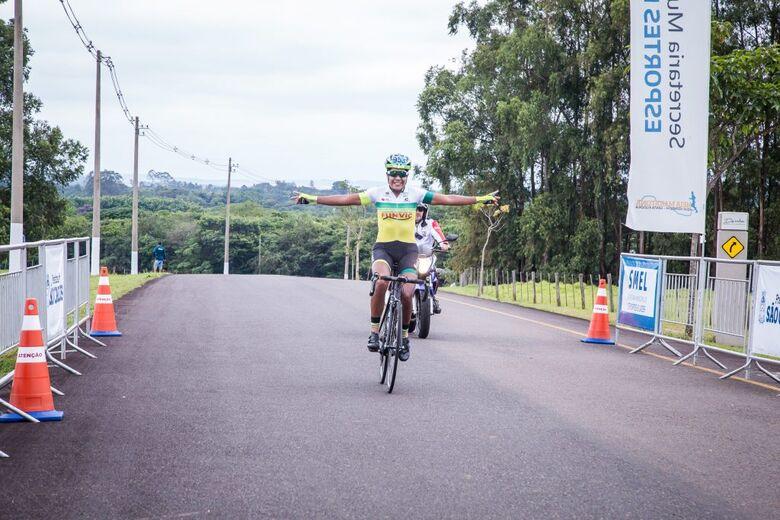 Bicampeã brasileira, ciclista de São José dos Campos é ouro - Crédito: Divulgação