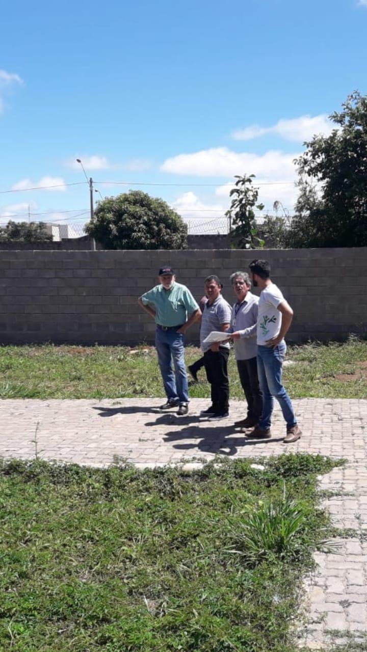 Malabim acompanha etapas finais das obras de manutenção no Cras do Jóquei Clube - Crédito: Divulgação