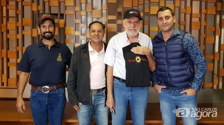 Reunião concretiza quarta cavalgada solidária de São Carlos - Crédito: Divulgação