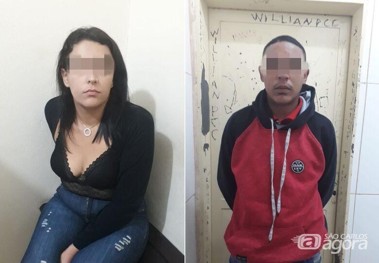 Força Tática encontra grande quantidade de drogas com jovens - Crédito: Divulgação