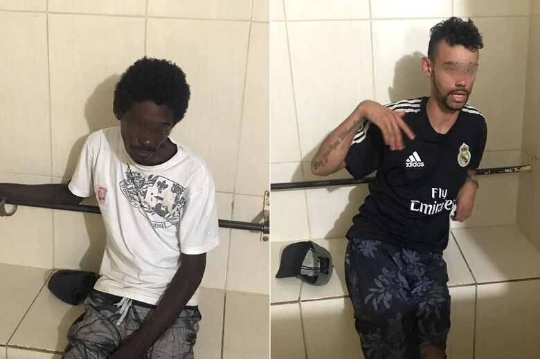 Dupla é presa após agredir e assaltar mulher na Vila Marcelino - Crédito: Divulgação