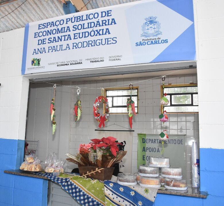 Centro de Economia Solidária é inaugurado em Santa Eudóxia - Crédito: Divulgação