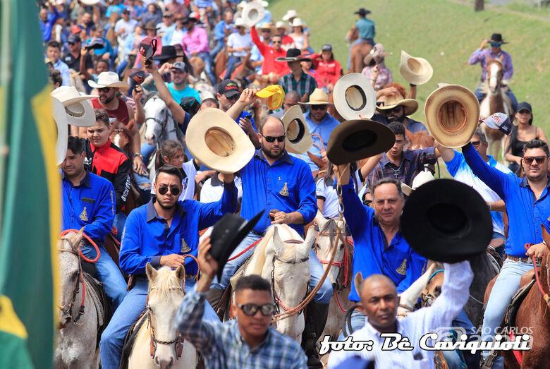 Cavalgada de São Cristóvão promete agitar o domingo - Crédito: Be Caviquioli
