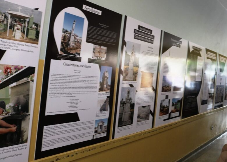 Exposição conta história dos cemitérios de São Carlos - Crédito: Divulgação